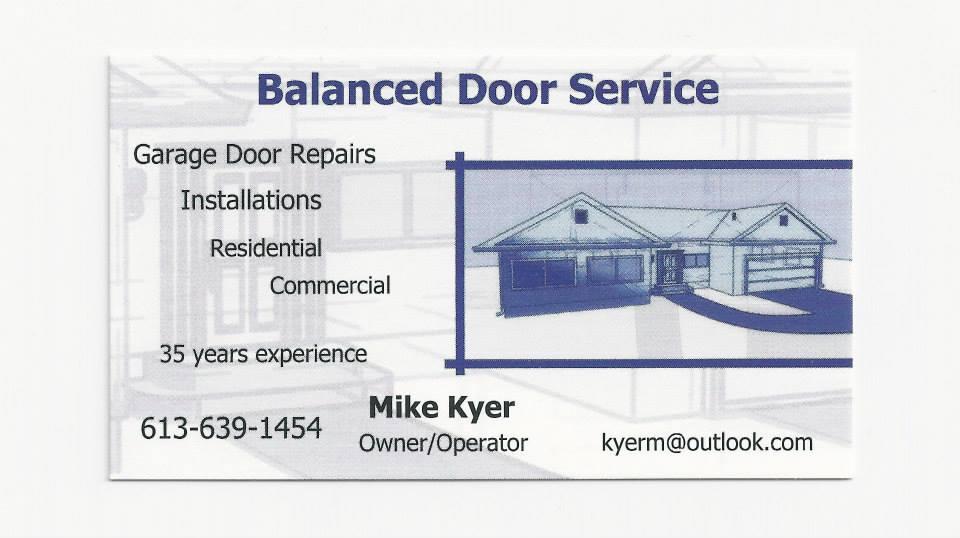 Balanced Door Service-whole