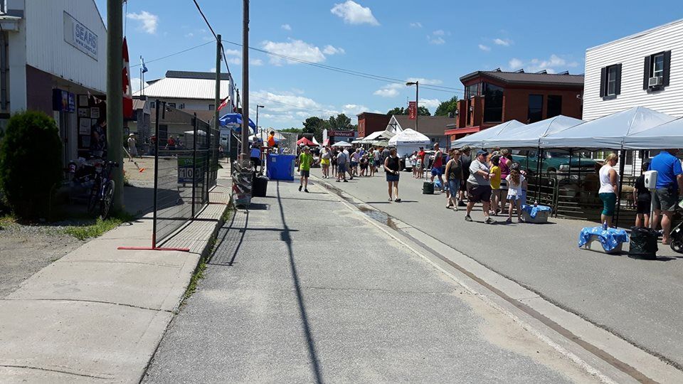 Main St Cobden July 15